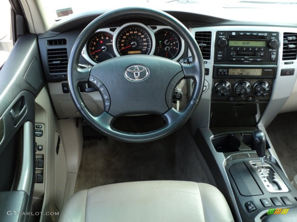 2004 Toyota 4runner Limited 4x4 Taupe Dashboard Photo