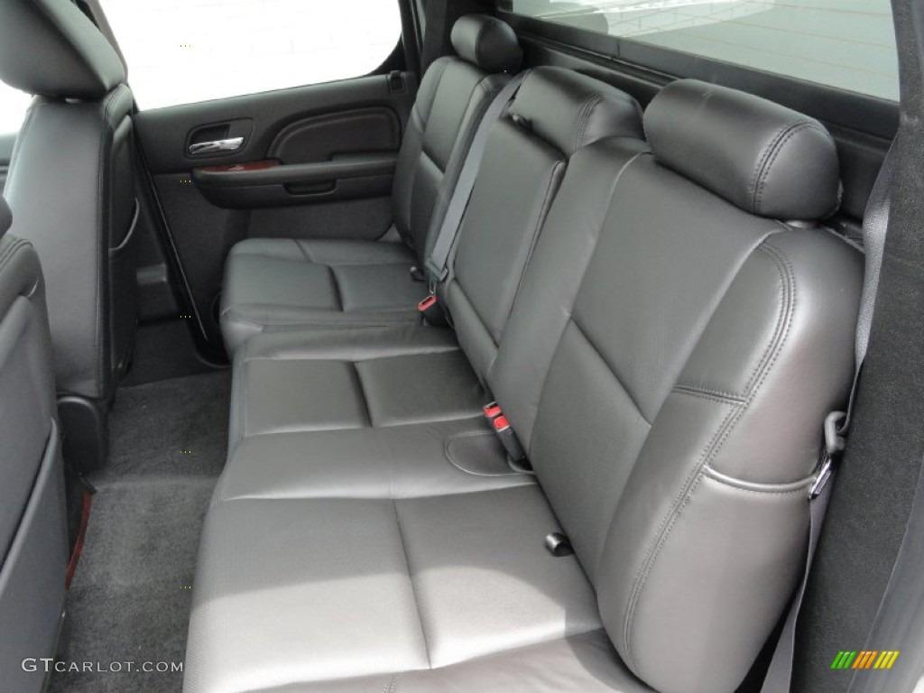 Ebony Ebony Interior 2011 Cadillac Escalade Ext Luxury Awd Photo 49956092