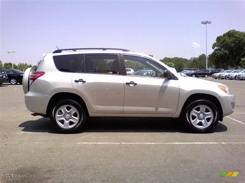 classic silver metallic 2010 toyota rav4 v6 exterior photo