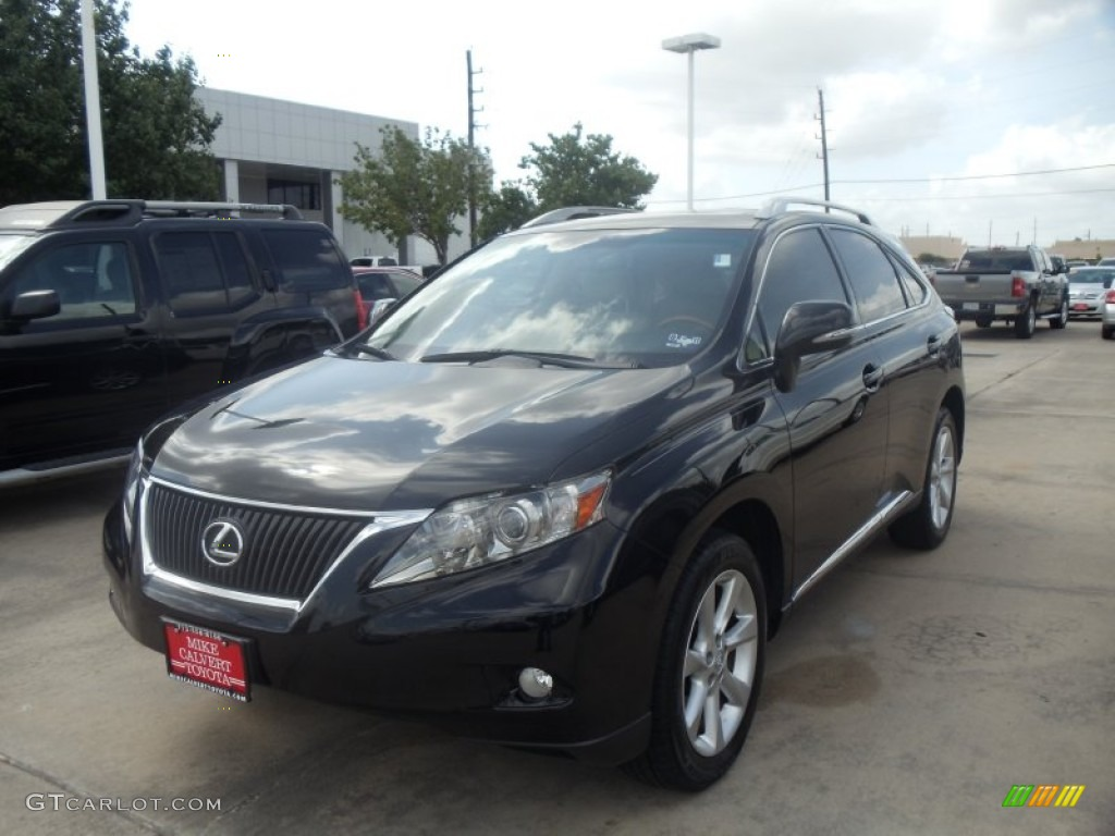 2010 black sapphire pearl lexus rx 350 49950694 car color galleries. Black Bedroom Furniture Sets. Home Design Ideas