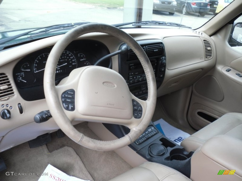 Medium prairie tan interior 2000 ford explorer eddie bauer 4x4 photo 49972608 2000 ford explorer interior parts