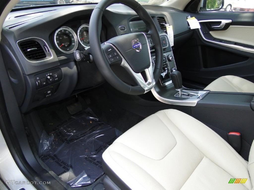 Soft Beige Off Black Interior 2012 Volvo S60 T5 Photo