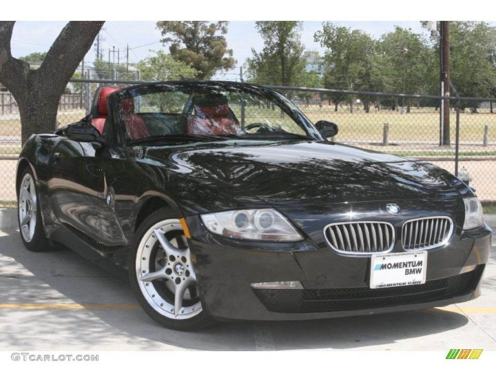 2007 Jet Black Bmw Z4 3 0si Roadster 49950510 Gtcarlot