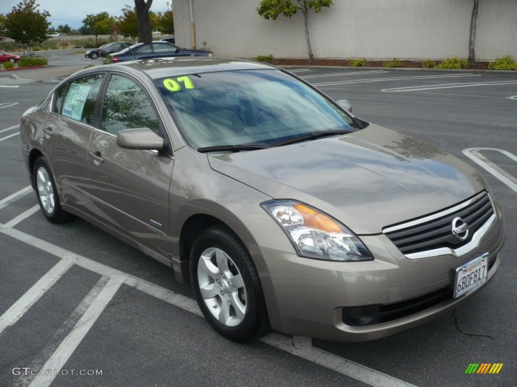 Pebble Beach Metallic 2007 Nissan Altima Hybrid Exterior Photo 49979781 Gtcarlot Com
