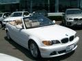Alpine White - 3 Series 325i Convertible Photo No. 3