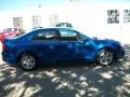 2011 Blue Flame Metallic Ford Fusion SE  photo #4