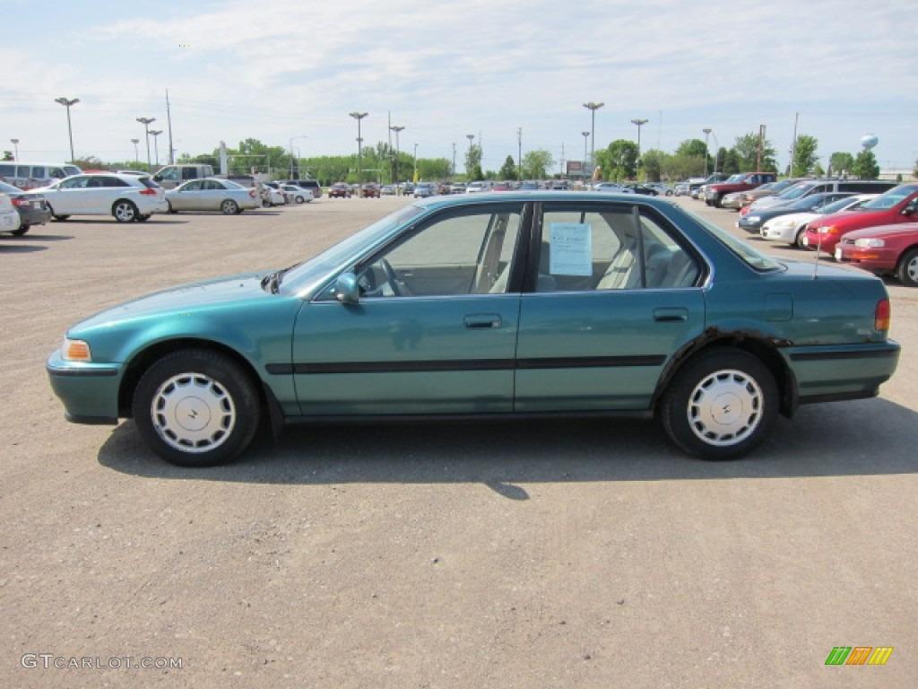 1993 accord ex sedan arcadia green pearl beige photo 11