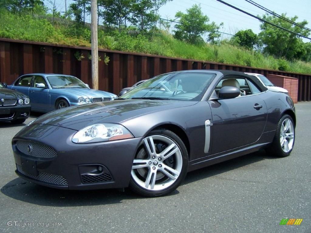 pearl grey metallic 2008 jaguar xk xkr convertible