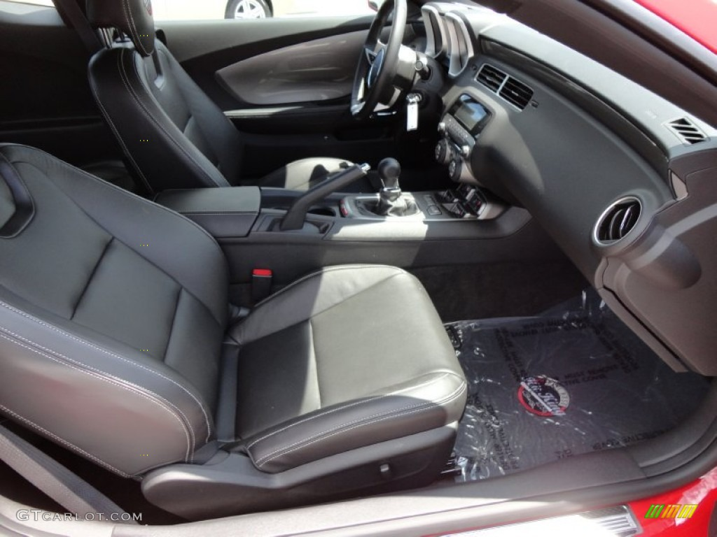 Black Interior 2010 Chevrolet Camaro Ss Rs Pete Rose Hit