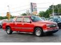 2006 Victory Red Chevrolet Silverado 1500 LS Crew Cab  photo #1