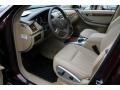 2009 R 350 4Matic Macadamia Interior