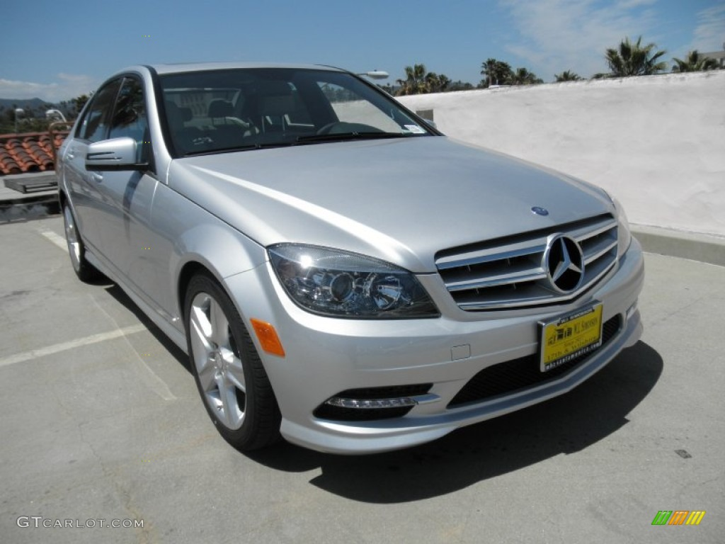 2011 iridium silver metallic mercedes benz c 300 sport for Mercedes benz silver