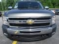 2011 Steel Green Metallic Chevrolet Silverado 1500 LT Crew Cab  photo #2