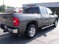 2011 Steel Green Metallic Chevrolet Silverado 1500 LT Crew Cab  photo #7