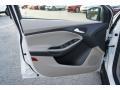 2012 White Platinum Tricoat Metallic Ford Focus SEL Sedan  photo #19