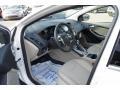 2012 White Platinum Tricoat Metallic Ford Focus SEL Sedan  photo #21