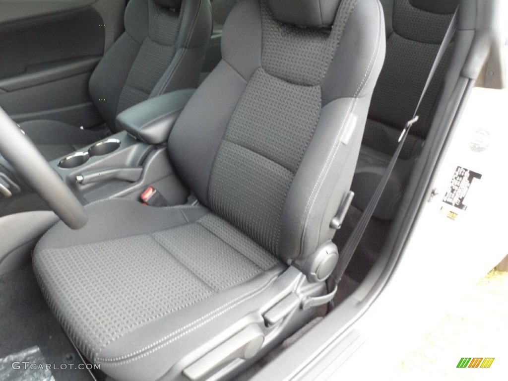 black cloth interior 2011 hyundai genesis coupe 2 0t photo 50044032. Black Bedroom Furniture Sets. Home Design Ideas