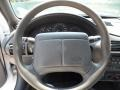 2001 Chevrolet Cavalier Medium Gray Interior Steering Wheel Photo