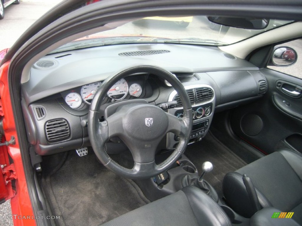 Dark slate gray interior 2004 dodge neon srt 4 photo for Dark grey interior