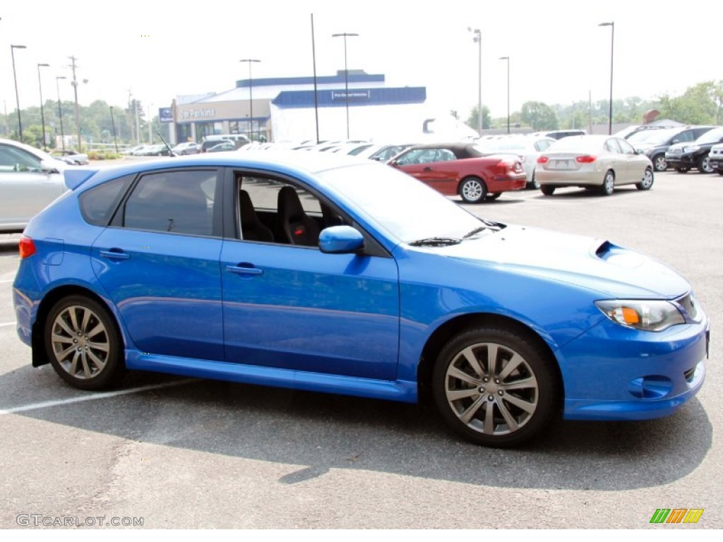 wr blue mica 2009 subaru impreza wrx wagon exterior photo 50047149. Black Bedroom Furniture Sets. Home Design Ideas