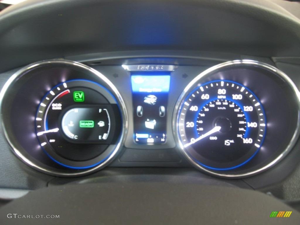 2011 Hyundai Sonata Hybrid Gauges Photo 50048748 Gtcarlot Com