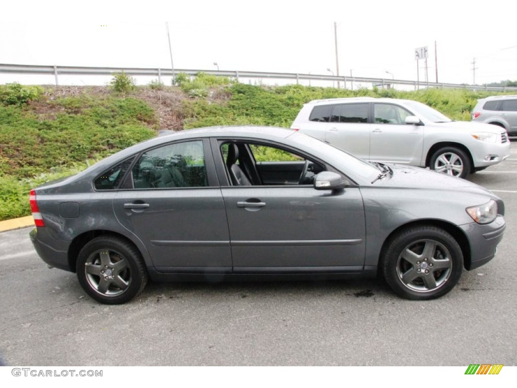 titanium gray metallic 2007 volvo s40 t5 awd exterior. Black Bedroom Furniture Sets. Home Design Ideas