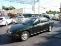 Dark Green 1996 Saturn S Series SL2 Sedan