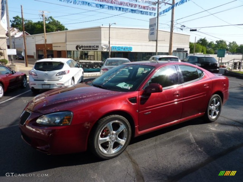 2007 crimson red pontiac grand prix gxp sedan 50037208 car color galleries. Black Bedroom Furniture Sets. Home Design Ideas