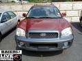 2004 Merlot Red Hyundai Santa Fe GLS 4WD  photo #2
