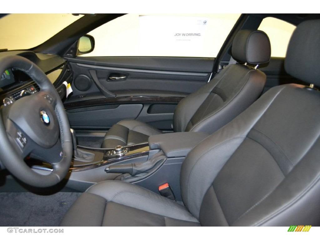 Black Dakota Leather Interior 2011 Bmw 3 Series 335i Coupe