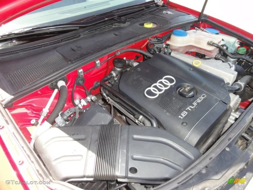 2004 Audi A4 1 8t Quattro Avant 1 8l Turbocharged Dohc 20v