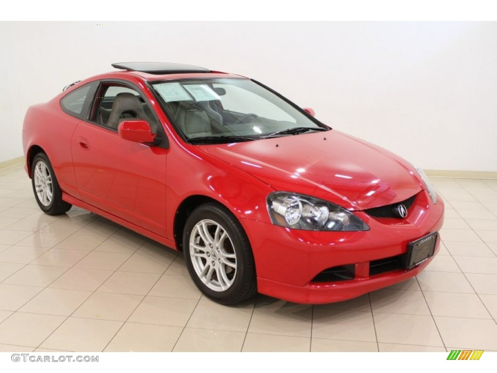 Milano Red 2006 Acura RSX Sports Coupe Exterior Photo #50068165 | GTCarLot.com