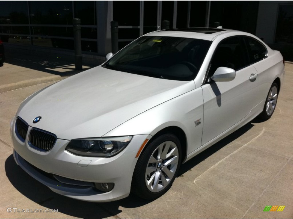 2011 Mineral White Metallic Bmw 3 Series 328i Xdrive Coupe