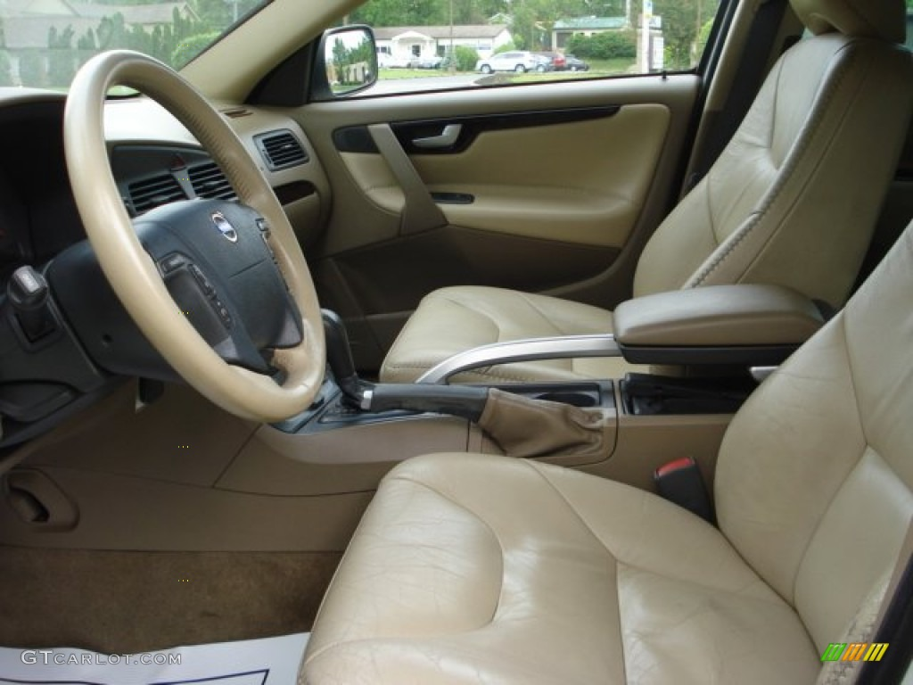 beigelight sand interior 2003 volvo xc70 awd photo