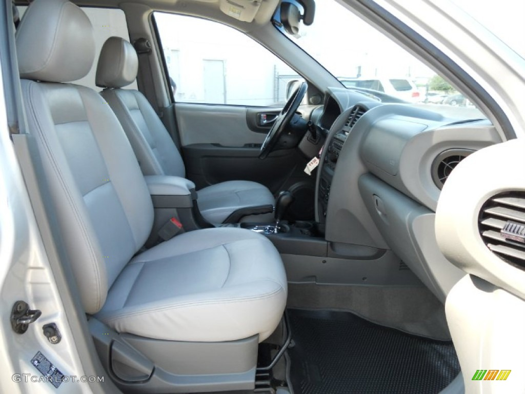 Gray Interior 2005 Hyundai Santa Fe Lx 3 5 Photo 50078833