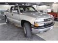 2000 Light Pewter Metallic Chevrolet Silverado 1500 Z71 Extended Cab 4x4  photo #4