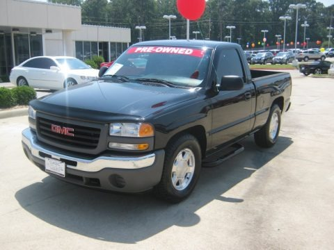 2006 gmc sierra 1500 sl regular cab data info and specs. Black Bedroom Furniture Sets. Home Design Ideas