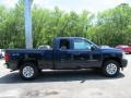 2011 Imperial Blue Metallic Chevrolet Silverado 1500 LS Extended Cab 4x4  photo #4