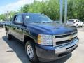 2011 Imperial Blue Metallic Chevrolet Silverado 1500 LS Extended Cab 4x4  photo #5