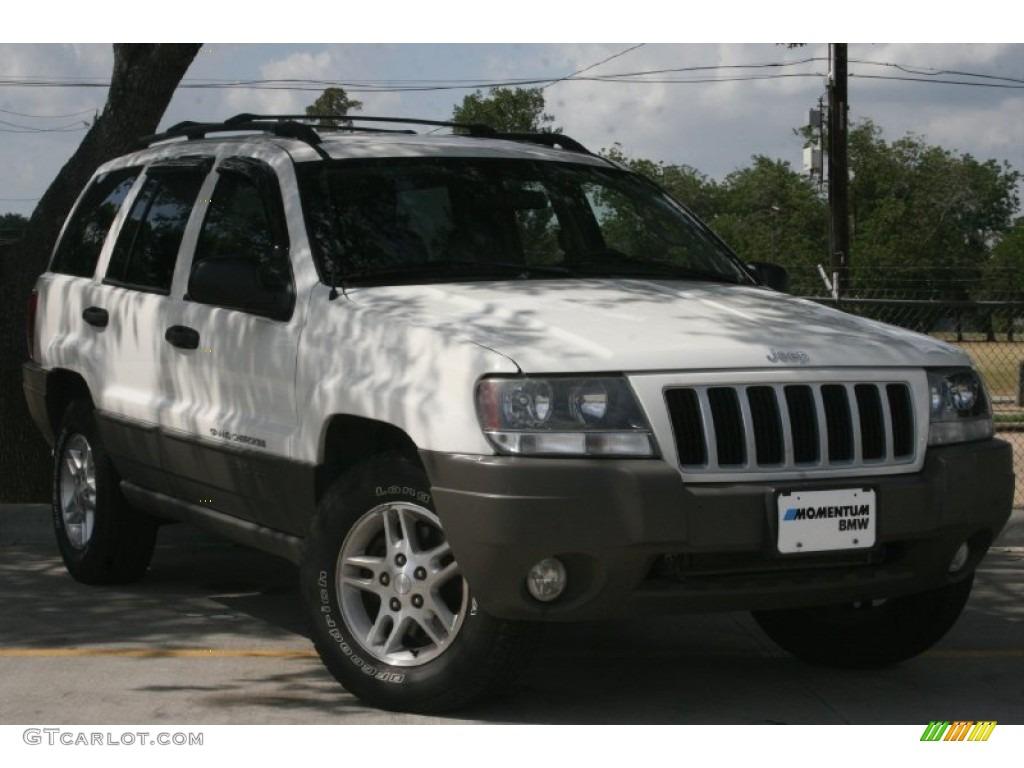 2004 stone white jeep grand cherokee laredo 50085996. Black Bedroom Furniture Sets. Home Design Ideas