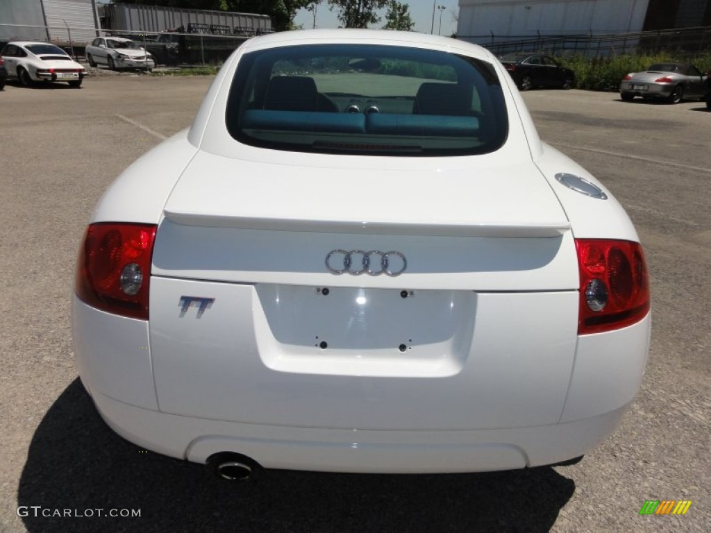 Brilliant White 2003 Audi Tt 1 8t Coupe Exterior Photo