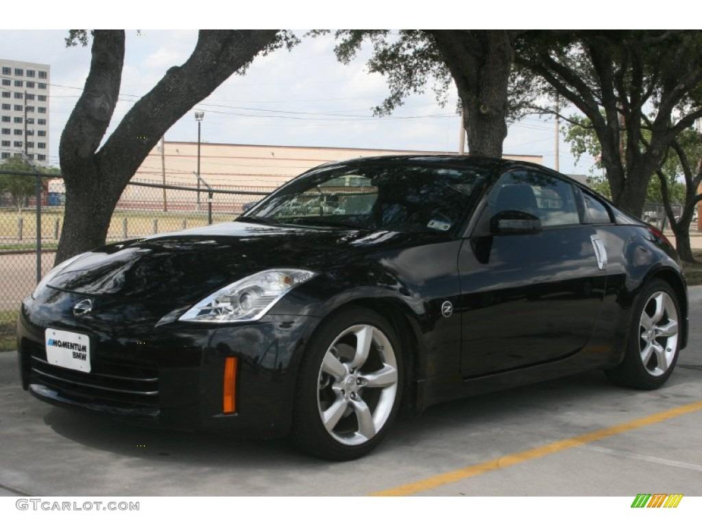 Nissan 350z Black Magnetic Black ...