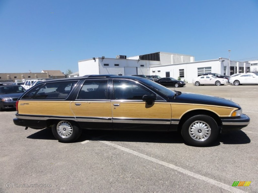 black 1994 buick roadmaster estate wagon exterior photo. Cars Review. Best American Auto & Cars Review