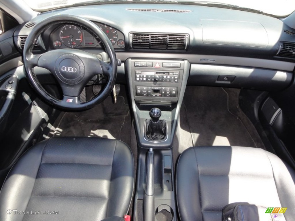 1999 audi a4 1.8t quattro sedan onyx dashboard photo #50111724