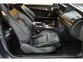 2010 E 550 Coupe Black Interior