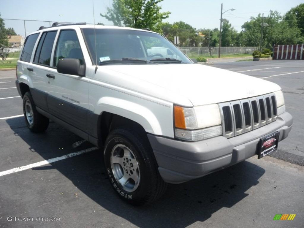 1996 stone white jeep grand cherokee laredo 4x4 50085669 photo 9 car color. Black Bedroom Furniture Sets. Home Design Ideas