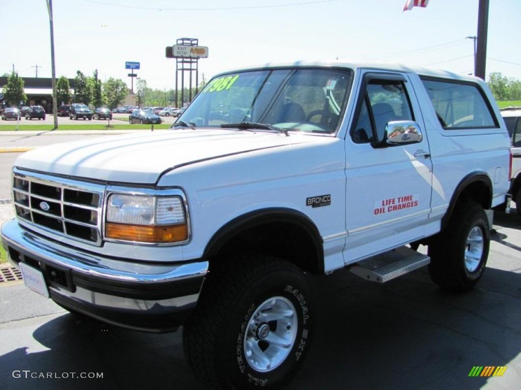 1996 Ford Bronco Interior Colors