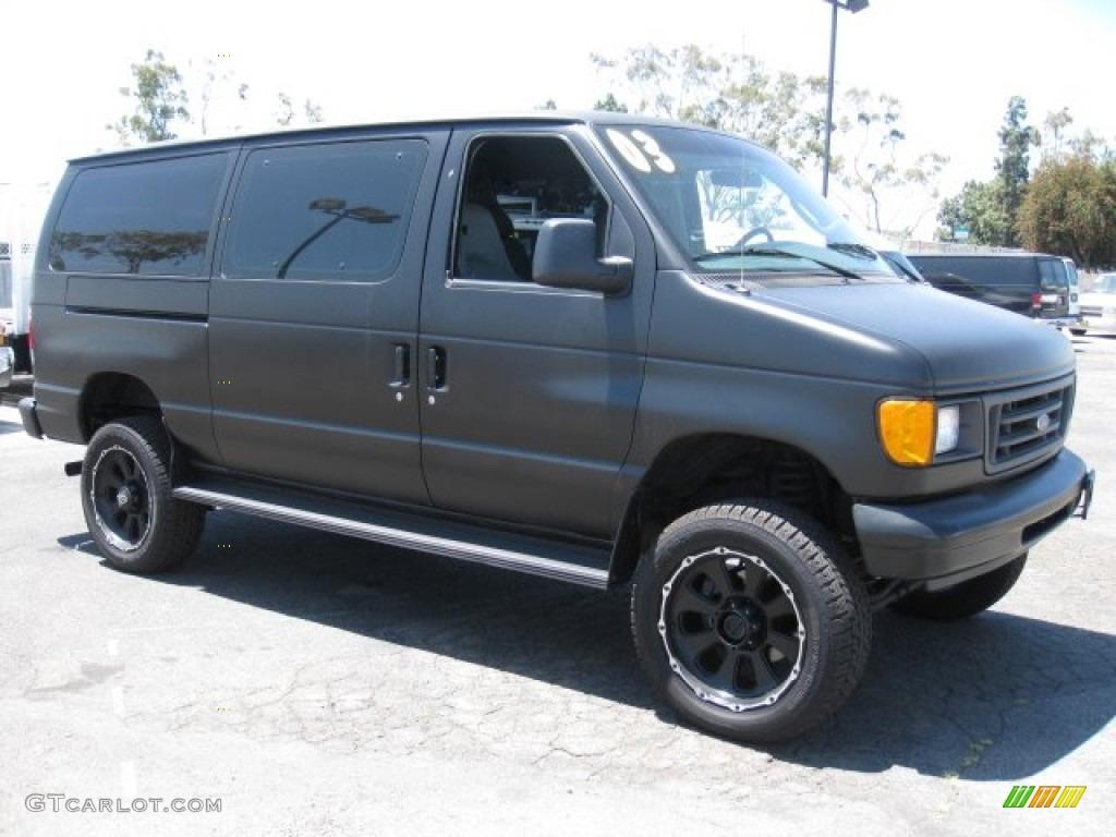 Toyota Van 4x4 For Sale Craigslist >> 2003 Black Ford E Series Van E350 Super Duty Commercial 4x4 #50085533 | GTCarLot.com - Car Color ...