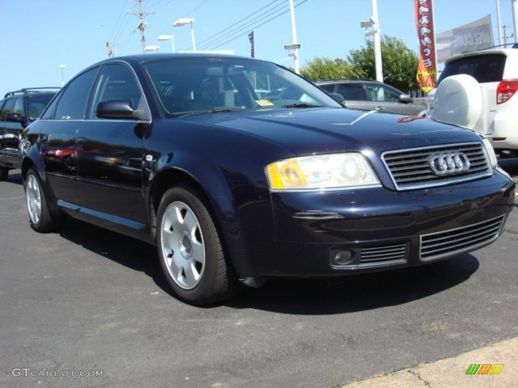2001 ming blue pearl effect audi a6 4 2 quattro sedan. Black Bedroom Furniture Sets. Home Design Ideas