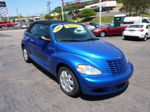 2005 chrysler pt cruiser touring turbo convertible data info and specs. Black Bedroom Furniture Sets. Home Design Ideas